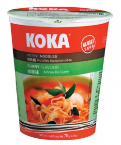 KOKA NOODLES CUP CURRY FLAV 70G