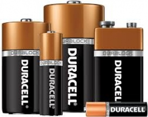 DURACELL AAA 2 1.5V BATTERIES 2N