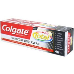 COLGATE TOTAL CHARCOAL.DEEP CLEAN 140G