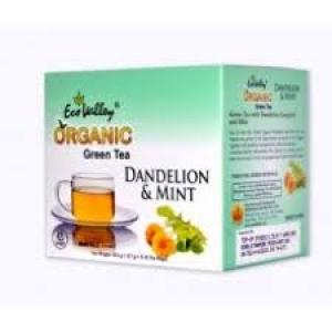 ECO VALLEY ORGANIC DANDELION & MINT 10 TEA BAGS
