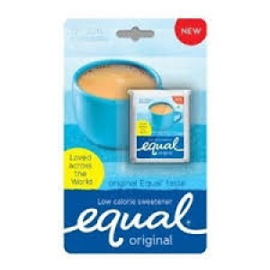 EQUAL ORIGINAL LOW CALORIE SWEETENER 110 TABLETS