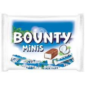 BOUNTY MINIATURES PKT 150GM