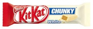 NESTLE KIT KAT CRUNCHY WHITE 48G