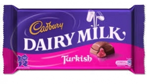 CADBURY DAIRY MILK TURKISH DELIGHT
