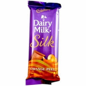 CADBURY DAIRY MILK SILK ORANGE PEEL 145G