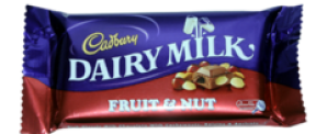 CADBURY  FRUIT & NUT 80G
