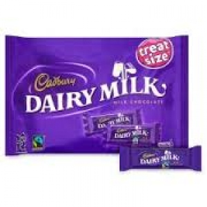 CADBURY DAIRY MILK HOME TREATS 20 MINIS