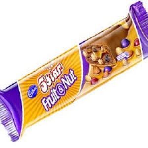 CADBURY FIVE STAR FRUIT & NUT 40G