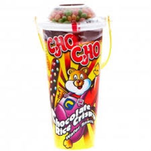 CHO CHO CHOCOLATE RICE CRISPY WAFER SNACK 40G