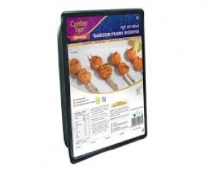 CAMBAY TIGER TANDOORI PRAWN SKEWERS 160G