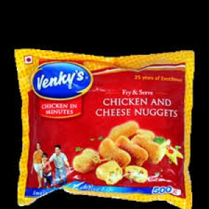 VENKY`S CHICKEN AND CHEESE NUGGETS 500G
