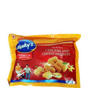 VENKY`S CHICKEN AND CHEESE NUGGETS 300G