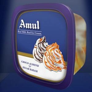 AMUL CHOCO ALMOND & KESAR BADAM 1LTR