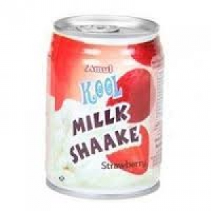 AMUL KOOL MILK SHAAKE STRAWBERY CAN 180ML
