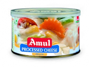 AMUL PROCESSED CHEESE TIN 400GM