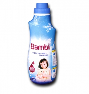 BAMBI FABRIC SOFTENER & CONDITIONER 750ML