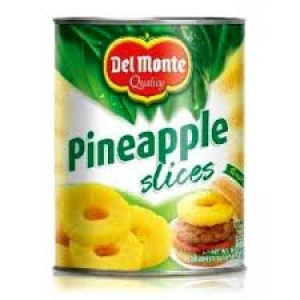 DEL MONTE PINEAPPLE SLICES  439G