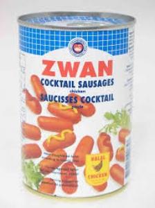 ZWAN CHICKEN COCKTAIL SAUSAGES 400G