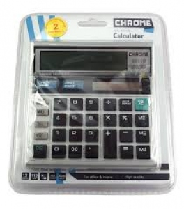 CHROME CALCULATOR NO.9231S