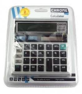 CHROME CALCULATOR NO.9231S