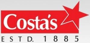 COSTA`S BEEF FRANKFURTERS 200G
