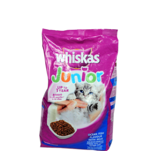 WHISKAS JUNIOR OCEAN FISH FLAV 1.1KG