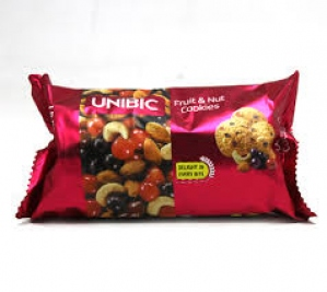 UNIBIC FRUIT N NUT COOKIES 75G
