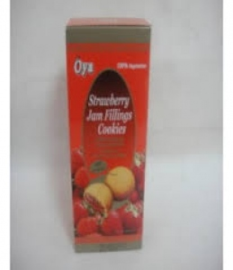 OYA STRAWBERRY JAM FILLINGS COOKIES 120G