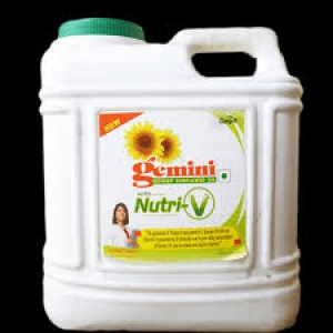 GEMINI REFINED SUNFLOWER OIL 15LTR