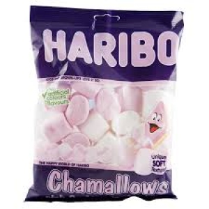 HARIBO CHAMALLOWS PINK & WHITE MASHMALLOWS 150G