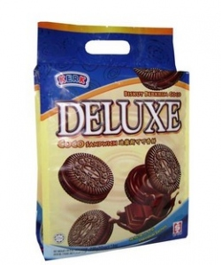 KERK DELUXE CHOCOLATE SANDWICH 250G