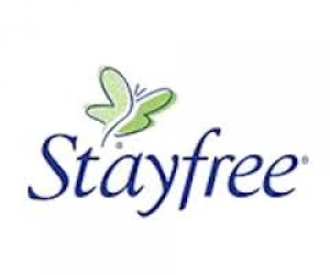 STAYFREE SECURE COTTON SOFT REGULAR 8 PADS
