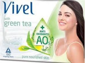 VIVEL GREEN TEA SOAP 3 X 100G