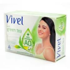 VIVEL WITH GREEN TEA BATHING BAR 100GM