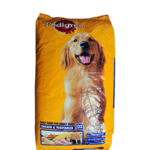 PEDIGREE ADULT CHICKEN & VEG 10KG