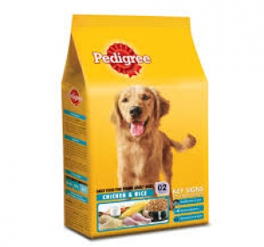 PEDIGREE YOUNG ADULT CHICKEN & RICE 1.2KG