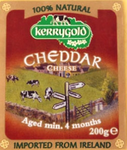 KERRY GOLD MATURE CHEDDAR CHEESE WHITE 200G