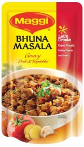 MAGGI BHUNA MASALA GRAVY DAL & VEG 65G