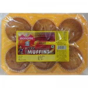 MONGINIS MUFFINS CAKE FRUIT