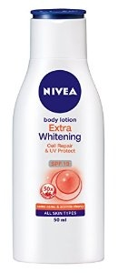 NIVEA BODY LOTION EXTRA WHITENING SPF15 50ML