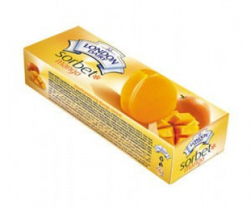 LONDON DAIRY SORBET MANGO 110ML