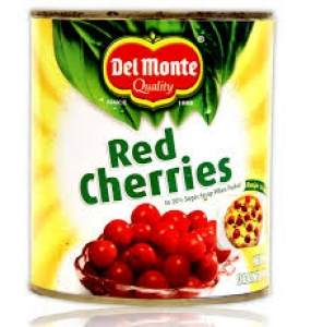 DEL MONTE FOOD CRAFT RED CHERRIES 840G