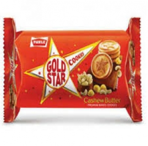 PARLE GOLD STAR CASHEW COOKIES 75G
