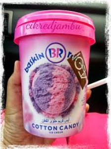 BASKIN R0BBINS COTTON CANDY 500ML