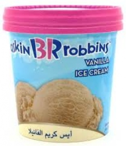 BASKIN ROBBINS VANILLA 500ML