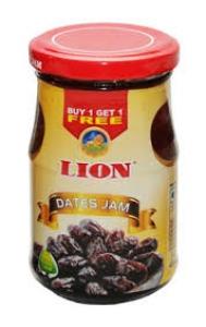 LION DATES JAM 150G CUP