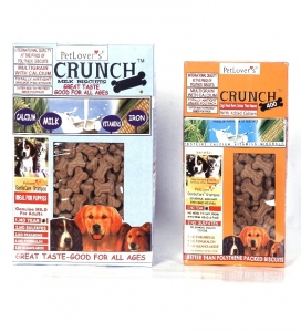 PETLOVERS CRUNCH PUPPY BISCUITS 400G