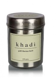 KHADI NATURAL GOLD THERMO HERB HST MUSK 100G