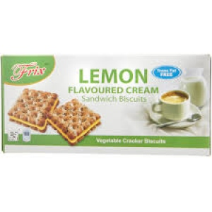 FRIX LEMON 3 FLAVOURED CREAM WAFER SANDWICH 150G