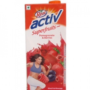 REAL ACTIV POMEGRANATE & BERRIES 1LTR